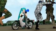 軍曹専用バイク
