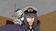 司令官、なにをしているのかな?