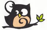 【切り絵】フクロウ
