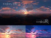 ++skies; 030 [16k8k/8k4kスカイドーム素材配布]