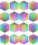 色相環 と 同明度(MS-Paint)環 と ・・・