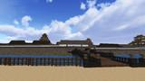 大坂城復元プロジェクト―極楽橋より天守を望む―