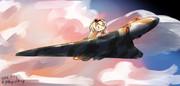 ウォースパイトとアブロ・バルカン戦略爆撃機