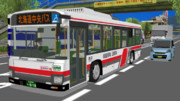 【MMDバス】北海道中央バス【テクスチャ改変】