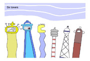 Six towers(六つの塔)