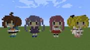 【minecraft】マイクラでNEW GAME!っぽい何か