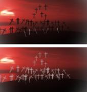 墓標とブレードステージ【ステージ配布】