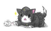ネズミ提督とあきつ丸ネコ