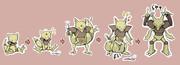 【ポケモン】ケーシィの進化過程