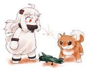 ほっぽちゃんVS烈風犬
