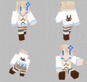 【minecraft】雪ゆかりスキンサンプル