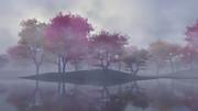 【MMDステージ配布】霧の紅葉 TJ6【スカイドーム】
