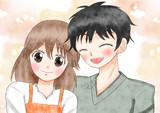 若いカップルを描いてみた