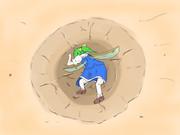 幻想少女大戦での大ちゃん(サムネ用に描いたやつです)