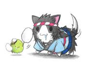 マリモ提督と吹雪ネコ