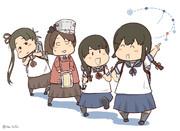 第十九駆逐隊!