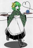 和服エプロン喫茶店員こいしちゃん