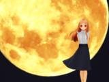 【MMD】満月【レア様】