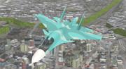 【配布】Su-34 Fullback【MMDモデル】