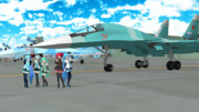 【MMD空軍】Su-34と35