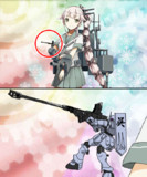 軽巡洋艦由良ゴーストファイター説