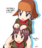 隊長の訓練を怠らないニーナちゃん