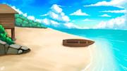 海辺の小屋