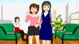 【MMDモデル配布】春日未来と最上静香。