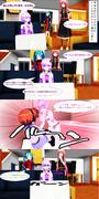 【MMD漫画】最近流行のHP『ドッペルドットコム』