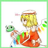 緑ぷよとフランちゃん