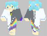 【Minecraft】初音ミク の スキンサンプル【Hello,GoodNight.】