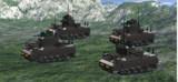 LDDで多砲塔戦車作ってみた。