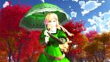 姐さんと日傘