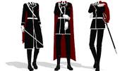 【MMD衣装配布】軍服セットver.2.0