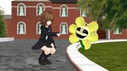 文月とお花