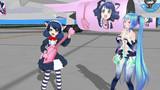 ギターの歌姫と電子の歌姫が空港でコラボしたようです!