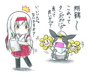 黒ウサギ提督と翔鶴