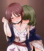 すこし舐めただけの楓さんと舐められた美優さん
