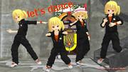 フランちゃんの秘密基地にて、続編 let's dance