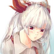 妹紅の紅い瞳