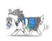 ネズミ提督と加賀犬