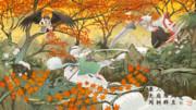 秋っぽい絵