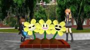 文月とお花2