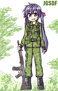 リク09 自衛官くるみ