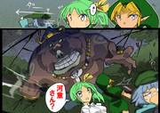 A.潜水艦だ!