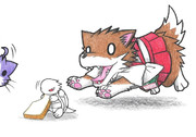 ベンジャミン提督と赤城犬