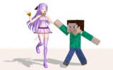 【MMD】時報ちゃんは見て、大好きMinecraftくんがを持ってるよ♡