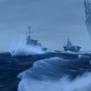 空母と護衛艦