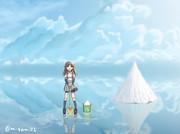 粗塩を入手するためにウユニ塩湖に来た荒潮