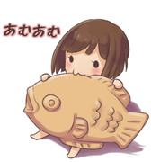 お魚くわえたみくにゃん